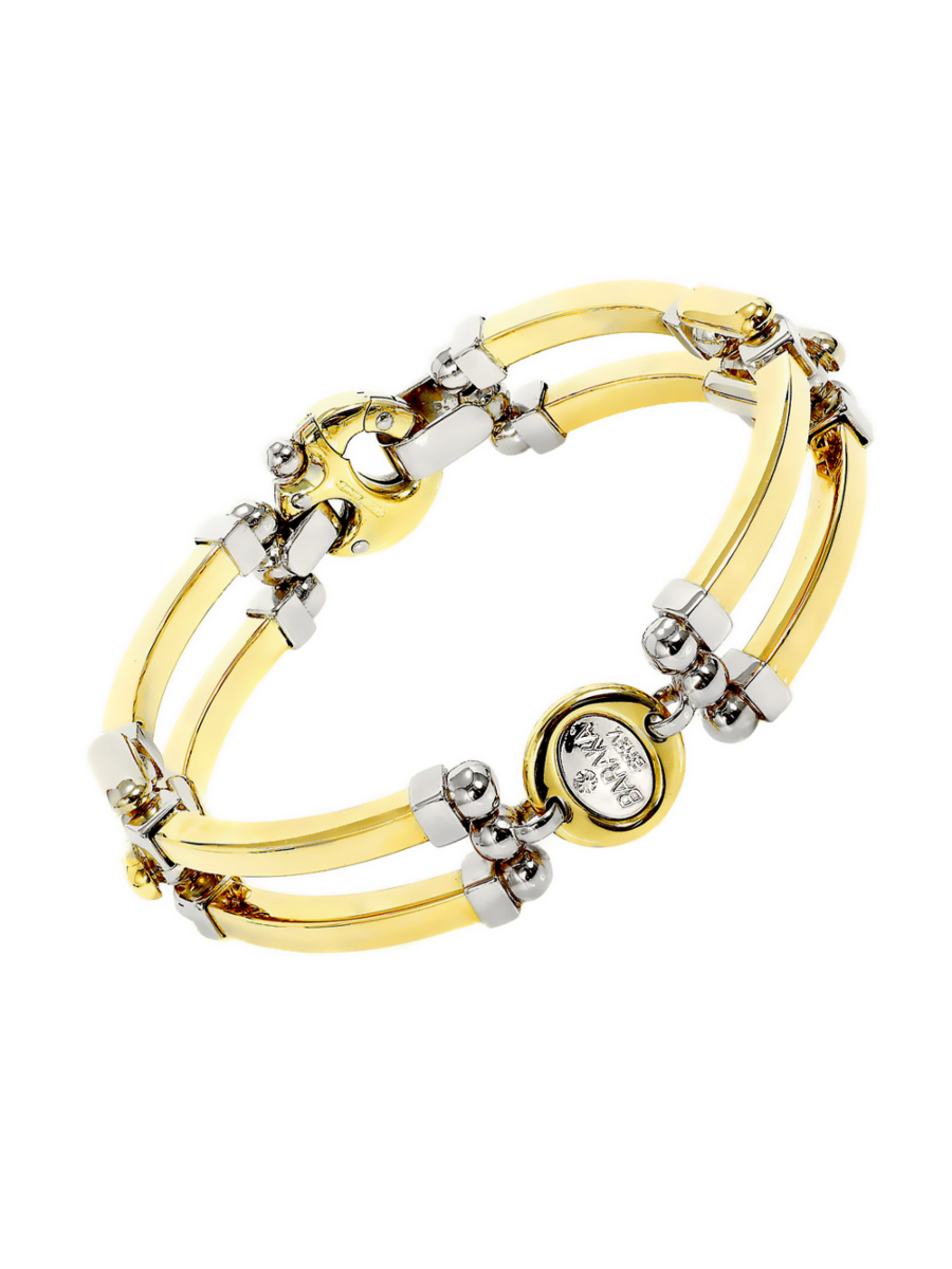 Baraka Two Tone Gold Bracelet BR20647 - Baraka Jewelry