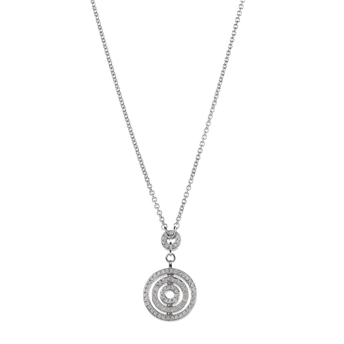 Bulgari Astrale Cerci Diamond White Gold Necklace - Bulgari Jewelry