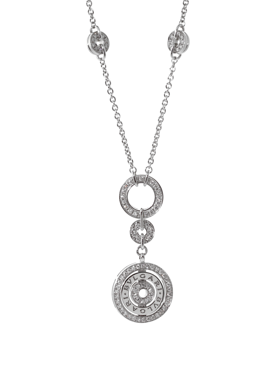 Bulgari Astrale Diamond White Gold Necklace - Bulgari Jewelry