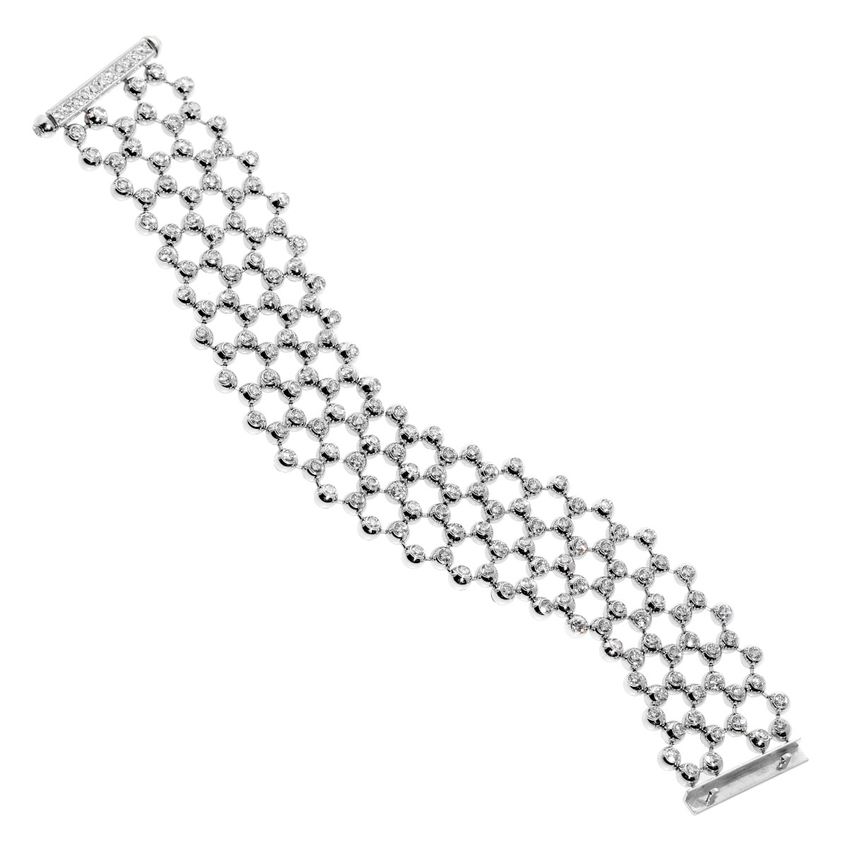 Cartier Diamond Tennis Multistrand Bracelet - Cartier Jewelry