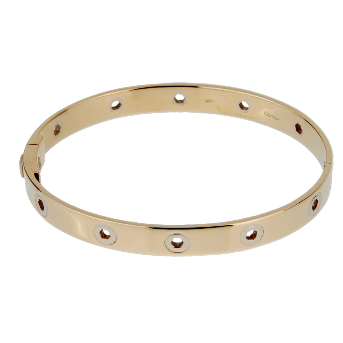 Cartier Vintage Love Series 18k Yellow Gold Bangle - Cartier Jewelry