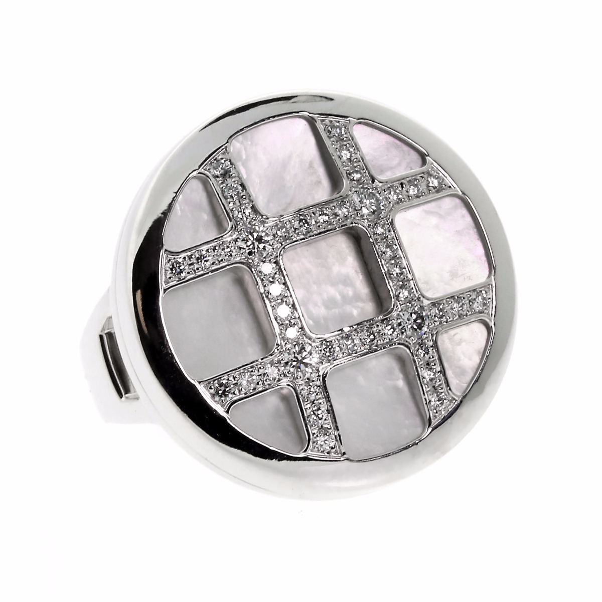Cartier Pasha Diamond White Gold Ring - Cartier Jewelry