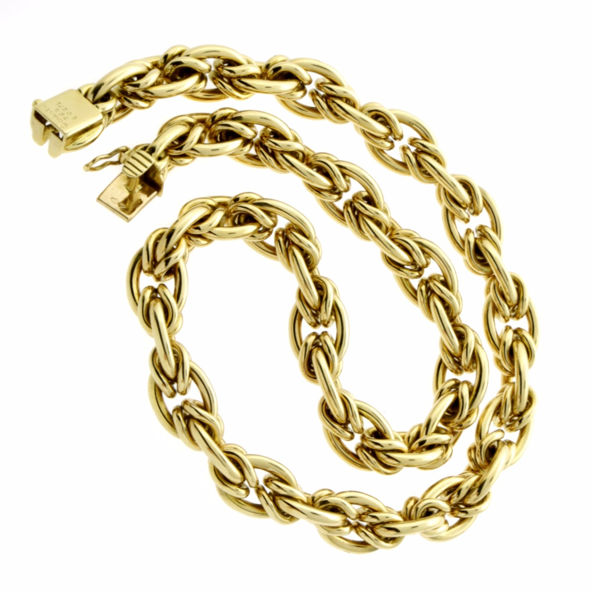 Chanel Woven Gold Choker Necklace - Chanel Jewelry