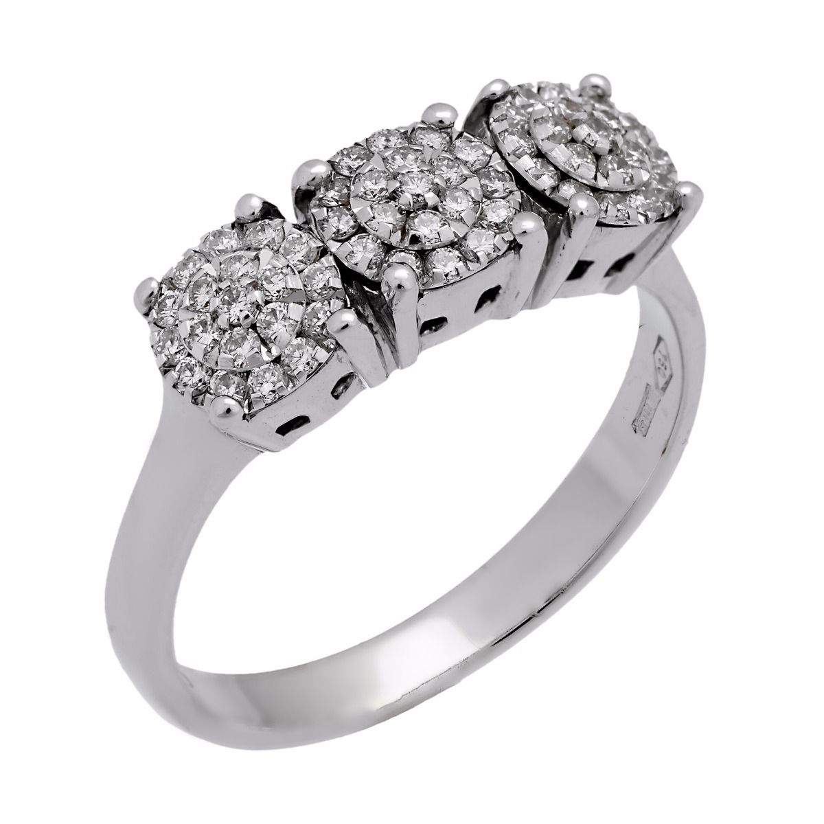 Chimento Past Present Future Round Diamond Ring - Chimento Jewelry