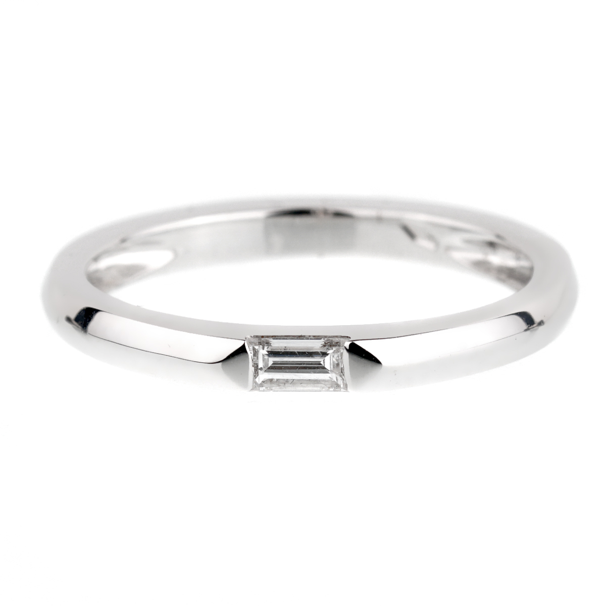 Chimento White Gold Diamond Baguette Ring - Chimento Jewelry