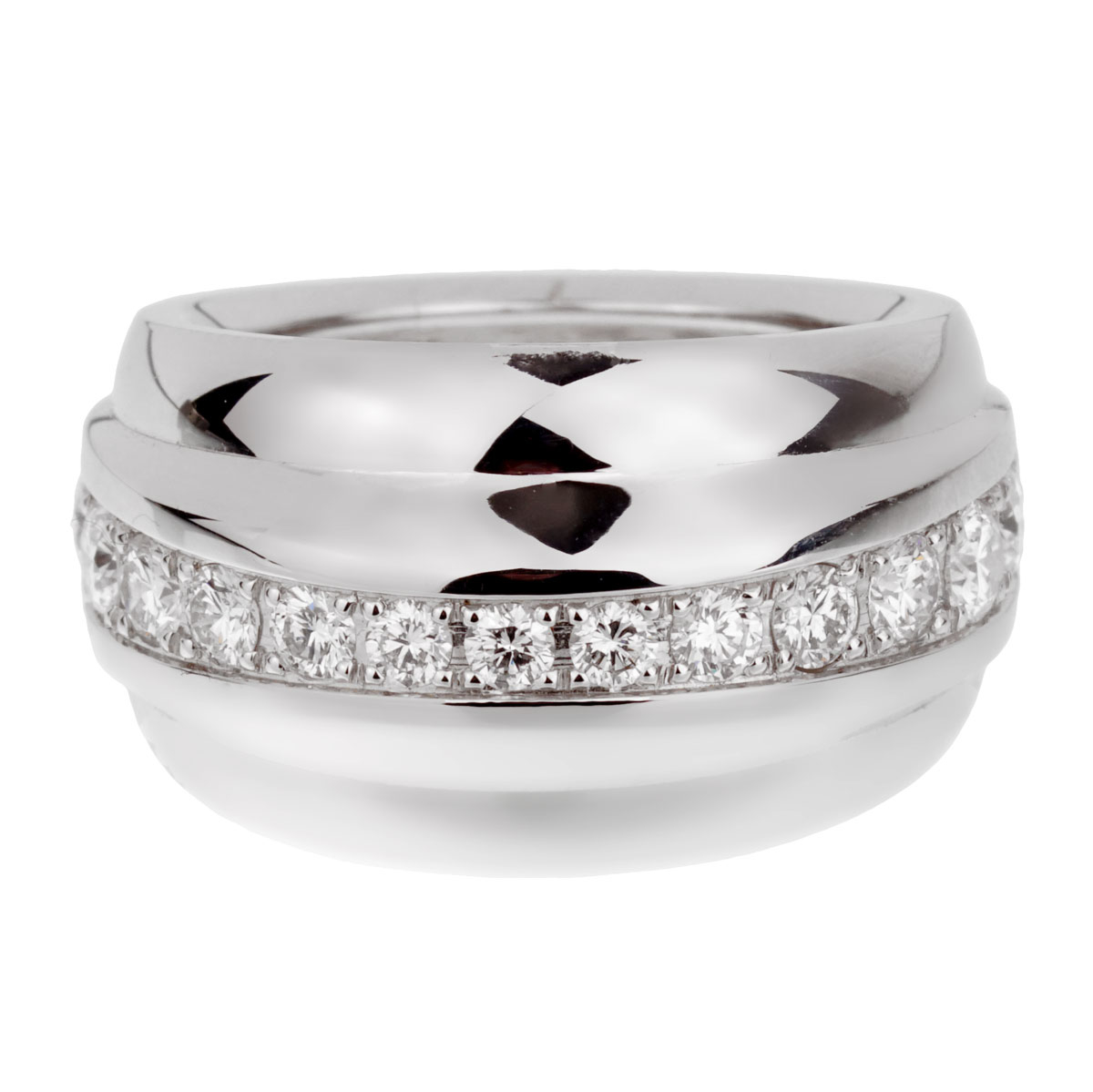 Chopard La Strada Diamond White Gold Ring - Chopard Jewelry