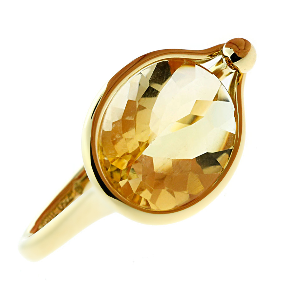 Georg Jensen Citrine Cocktail Ring - Georg Jensen Jewelry