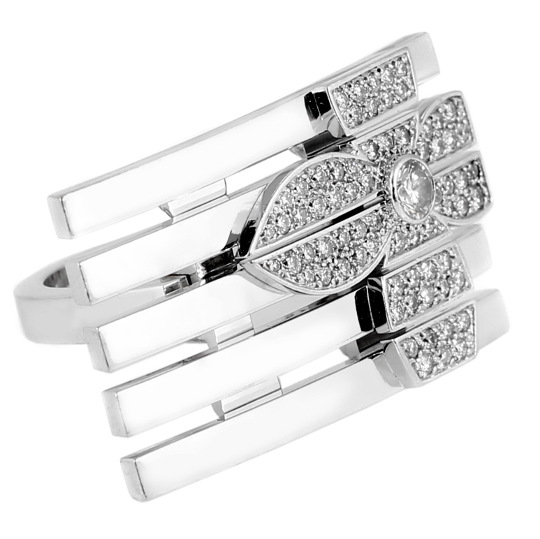 Louis Vuitton Flower Diamond Cocktail Ring - Louis Vuitton Jewelry