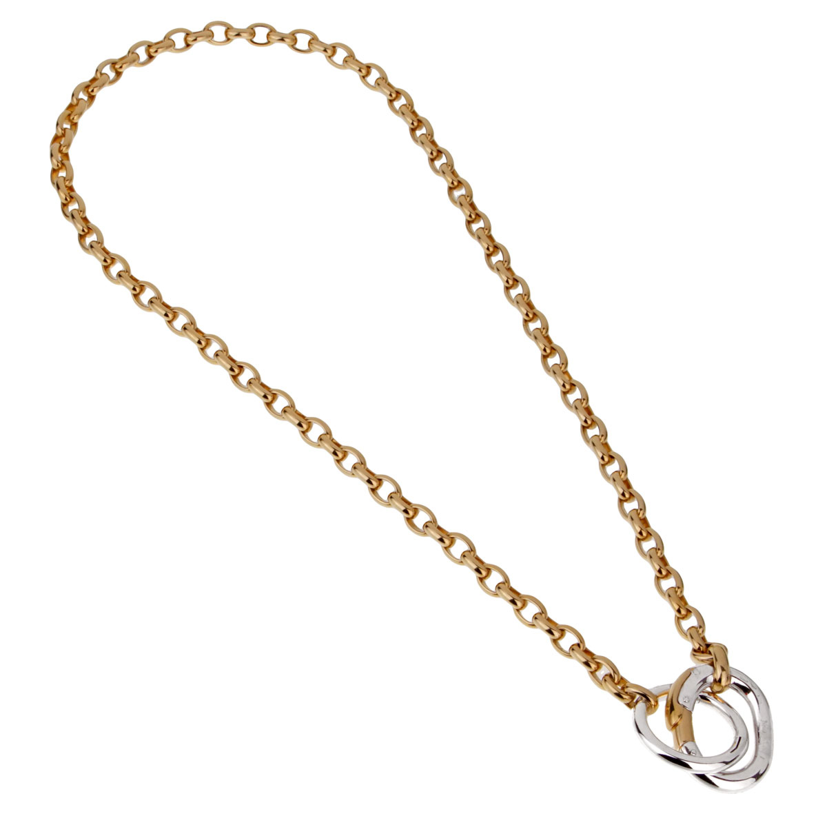 Pomellato Chain Link Yellow Gold Necklace - Pomellato Jewelry