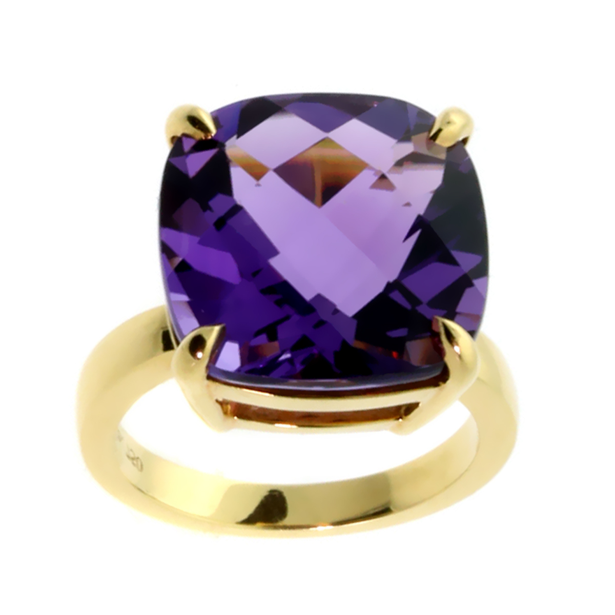 Tiffany & Co Amethyst Gold Ring - Tiffany and Co Jewelry