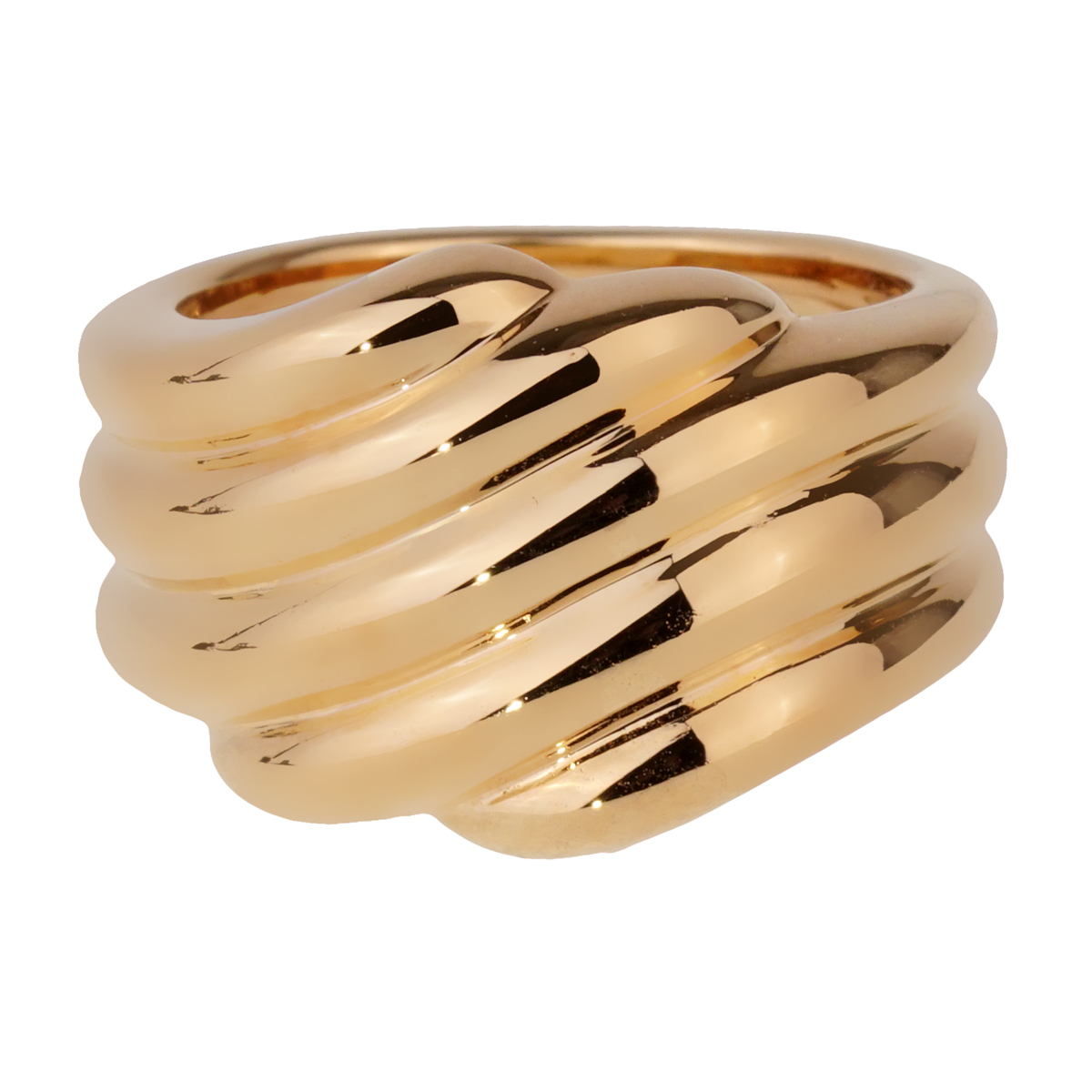 Van Cleef & Arpels Gold Cocktail Ring - Van Cleef and Arpels Jewelry