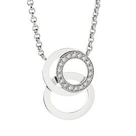 Audemars Piguet Millenary Diamond White Gold Necklace