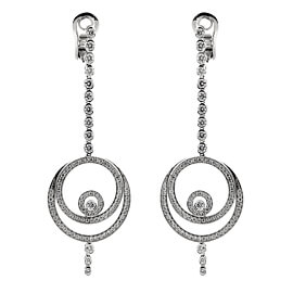Audemars Piguet Millenary Diamond Drop White Gold Earrings