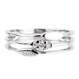Bliss Diamond White Gold Ring
