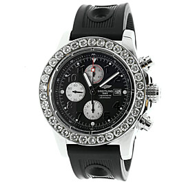 Mens Breitling Super Avenger Diamond Watch A13370