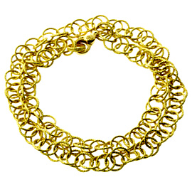 Buccellati Hawaii Gold Textured Necklace