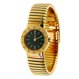 Bulgari Tubogas Yellow Gold Ladies Watch