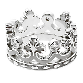 Carrera y Carrera Mi Princesa Diamond White Gold Ring
