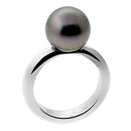Cartier Pearl White Gold Ring