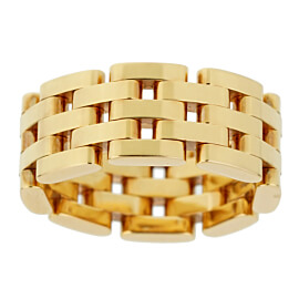 Chopard Les Chaines Rose Gold 5 Row Ring