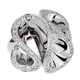 De Grisogono Zigana White Gold Diamond Ring
