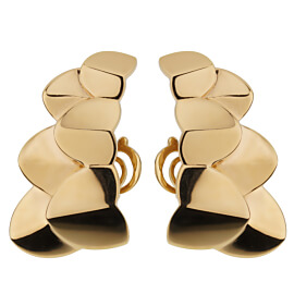 Fred of Paris Double Arc Yellow Gold Earrings