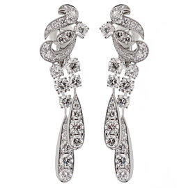 Graff Magnificent Chandelier Diamond Drop Earrings