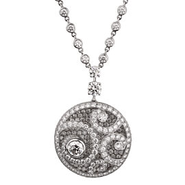 Graff Magnificent Diamond Pendant Drop Necklace
