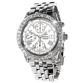 Mens Breitling Crosswind Diamond Watch