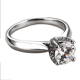 Verragio Classico Engagement Ring Platinum Mounting