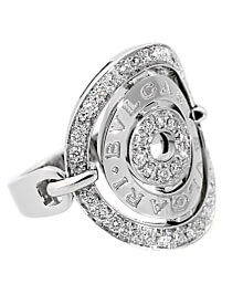 Bulgari Astrale Diamond White Gold Ring