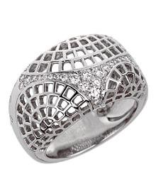 Cartier Nouvelle Vague Diamond White Gold Ring