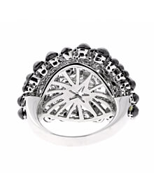 Charade Diamond Cocktail Star White Gold Ring