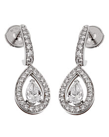 Fred of Paris Lovelight Diamond Drop Earrings