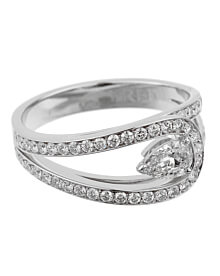 Fred of Paris Lovelight Pear Diamond Platinum Ring