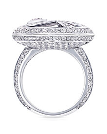 Graff Diamond Wave White Gold Cocktail Ring