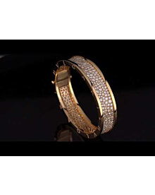 Bulgari Bzero1 Rose Gold Diamond Bangle For Sale Opulent Jewelers