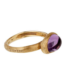 Marco Bicego Amethyst Gold Textured Ring