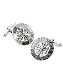 Patek Philippe Calatrava White Gold Cufflinks