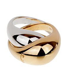 Pomellato Two Tone Gold Cocktail Ring