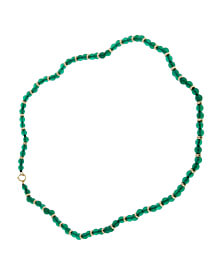 Van Cleef & Arpels Chrysophase Beaded Gold Necklace