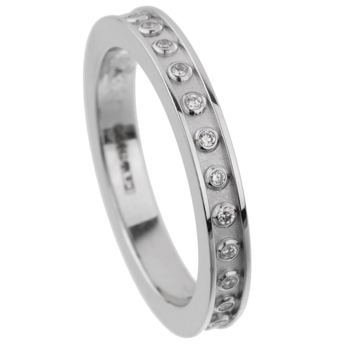 Carrera y Carrera Diamond White Gold Eternity Band
