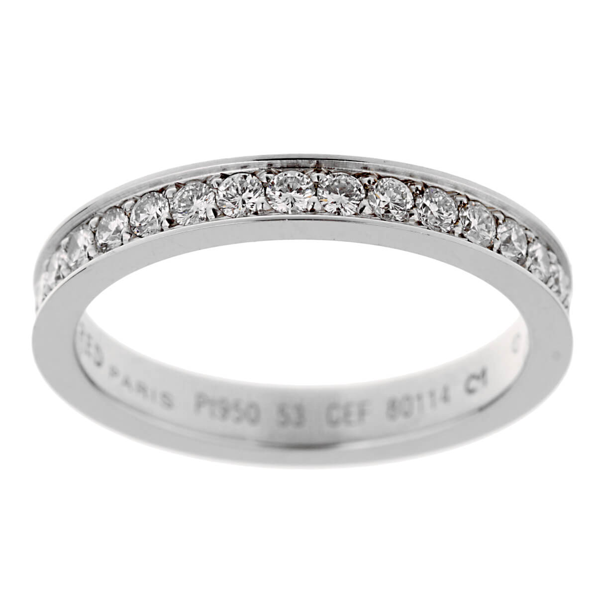 Fred of Paris Platinum Diamond Eternity Ring